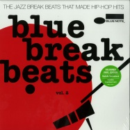 Front View : Various Artists - BLUE BREAK BEATS VOL. 2 (COLOURED 2X12 LP + MP3) - Blue Note / 5370937