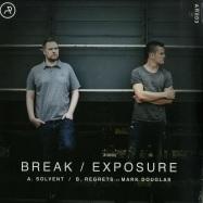 Front View : Break / Exposure - SOLVENT / REGRETS - AR Records / AR003