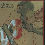 Front View : Various Artists - CONFESSIN THE BLUES VOL. 1 (2LP) - BMG / BMGCAT155DLP1