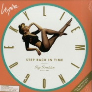 Front View : Kylie Minogue - STEP BACK IN TIME: THE DEFINITIVE COLLECTION (LTD GREEN 2LP + MP3) - BMG / 405053850562
