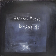 Front View : Various Artists - APPAREL MUSIC B-DAY 10 (2LP) - Apparel Music / Apparel002