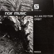 Front View : Allan Feytor - ORBIT (TRANSPARENT VINYL) - Noir Music / NM003