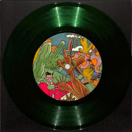 Front View : Unknown - OLHOS NEGRO / SENORITA GET DOWN (GREEN 7 INCH) - Made to Dance / MTD004