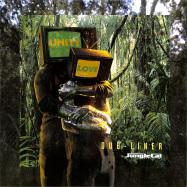 Front View : Dub-liner Feat. General T.k. - RACIAL WAR FEAT. GENERAL T.K. / GIVE A L (GREEN VINYL) - Jungle Cat Recordings / JCAT010