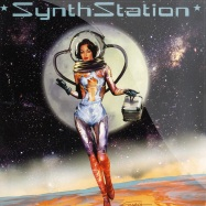 Front View : Various Artists - SYNTHSTATION (LP) Colored Vinyl - Radio Cosmos / RC002