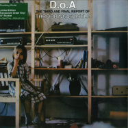 Front View : Throbbing Gristle - D.O.A. THE THIRD AND FINAL REPORT (TRANSPARENT GREEN VINYL LP) - Mute / TGLP3