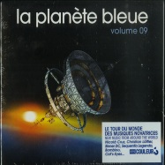 Front View : Various Artists - LA PLANETE BLEUE (VOLUME 9) (CD) - Mental Groove / MG122CD
