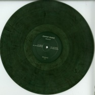Front View : Johnny Island - RADIUS EP (CLEAR MARBLED VINYL) - Smaragd / SMRGD003