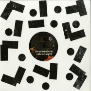 Front View : Housemeister - LATE AT NIGHT (INCL MATTHEW HERBERT REMX) - Accidental Jnr / ACJ114