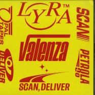 Front View : Lyra Valenza - SCAN, DELIVER - Black Opal, Petrola 80 / BOP016 , PET-005