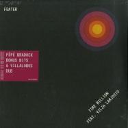 Front View : Feater - Time Million feat. Vilja Larjos - PEPE BRADOCK BONUS BIT & VILLALOBOS DUBS - Running Back / RBFEATERRMX2