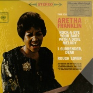 Front View : Aretha Franklin - THE ELECTRIFYING ARETHA FRANKLIN / A BIT OF SOUL (180G , 2X12 + 10 INCH) - Music on Vinyl / movlp294