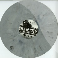 Front View : Adalberto - DANCE MANIAC (WHITE MARBLED VINYL) - Crime City / CC03