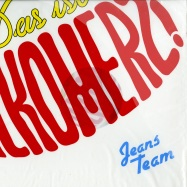 Front View : Jeans Team - DAS IST ALKOMERZ (LP + CD) - Staatsakt / akt741lp
