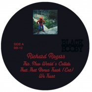 Front View : Richard Rogers - BB-12 - Black Booby / BB012