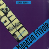 Front View : Serge Blenner - MAGAZINE FRIVOLE (LP) - Bureau B / BB3251 / 05177451 / BB325LP