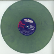 Front View : The Satan - DESTROY EVERYTHING (GREEN MARBLED / VINYL ONLY) - Hong Kong Violence / HKV020