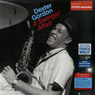Front View : Dexter Gordon - A SWINGIN AFFAIR (180G LP) - Jazz Images / 1019331EL2