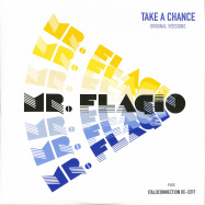 Front View : Mr. Flagio - TAKE A CHANCE (INCL ORIGINAL & ITALOCONNECTION REEDIT)) (YELLOW VINYL) - Discoring Records / DR-004Y