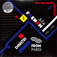 Front View : Dimitri From Paris Various - A LA FRENCH (1987-1992) THE BALEARIC SESSIONS VOL. 1 (LP) - Favorite Recordings, Jazzy Couscous / FVR175-JC14