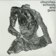 Front View : Lucy - CHURCHES SCHOOLS AND GUNS (3X12 INCH LP) - Stroboscopic Artefacts / SALP002