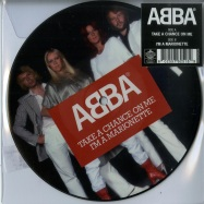 Front View : Abba - TAKE A CHANCE ON ME (7 INCH PICTURE DISC) - Universal / 5762518