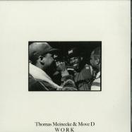 Front View : Thomas Meinecke & Move D - WORK - International Deejay Gigolo Records / GIGOLO307V