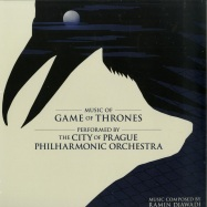 Front View : The City Of Prague Philharmonic Orchestra - MUSIC OF GAME OF THRONES (LTD 2LP) - Diggers Factory / SILKED6056