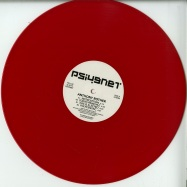 Front View : Anthony Rother - PSI49NET 103 (RED COLOURED VINYL) - PSI49NET / PSI103
