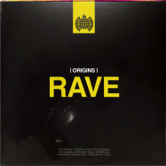 Front View : Various Artists - ORIGINS OF RAVE (2LP) - Ministry Of Sound / MOSLP553