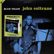 Front View : John Coltrane - BLUE TRAIN (LP + CD) - Groove Replica / 77023 / 10269081
