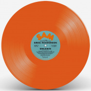 Front View : Greg Henderson - DREAMIN (ORANGE VINYL REPRESS) - Sam Records / S-12353ORANGE