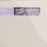 Front View : Erell Ranson - EVERYTHING NEEDS TO BE CLEAR - aDepth audio / aDepth004