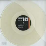 Front View : Audiojack - STAY GLUED / BAD INFLUENCE (CLEAR VINYL) - Gruuv / gru013