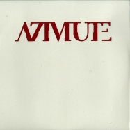 Front View : Azimute - AZMRED (RED VINYL / VINYL ONLY) - Azimute / AZM001