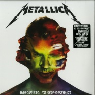 Front View : Metallica - HARDWIRED ... TO SELF-DESTRUCT (180G 2X12 LP + MP3) - Universal / 5715641