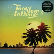 Front View : Various Artists - TOO SLOW TO DISCO VOL. 3 (LTD COLOURED 2X12 INCH LP+MP3) - How Do You Are? / HDYARE04LPLTD