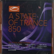 Front View : Armin Van Buuren & Friends - A STATE OF TRANCE 850 (THE OFFICIAL COMPILATION) (2XCD) - Armada / arma449