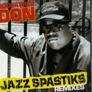 Front View : Godfather Don - JAZZ SPASTIKS REMIXES (LP) - Fresh Pressings / FPI015
