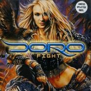 Front View : Doro - FIGHT (LTD SPLATTERED LP) - Rare Diamonds Productions / RDP008-V