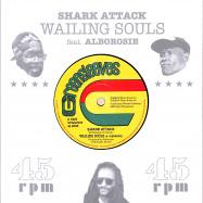 Front View : Wailing Souls / Alborosie - SHARK ATTACK / SHARK ATTACK DUB (7 INCH) - Greensleeves / VPGS70757