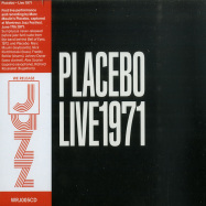 Front View : Placebo (Marc Moulin) - LIVE 1971 (OFFICIAL 2020 RE EDITION) (CD) - We Release Jazz / WRJ005CD