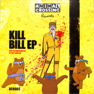 Front View : Joey Jackson - KILL BILL EP (YELLOW MARBLED / VINYL ONLY) - Animal Crossing Records / AC003