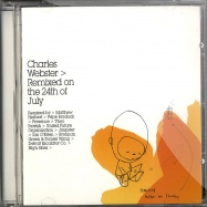 Front View : Charles Webster - REMIXED ON THE 24TH OF JULY (CD) - Peacefrog / pfg037cd
