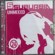 Front View : Various Artists - SUBURBIA UNMIXED 24 (2CD) - Saifam Music / com1294-2