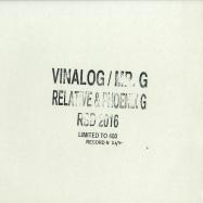 Front View : Vinalog / Mr. G - RELATIVE & PHOENIX G 004 (2X12 INCH / RSD 2016) - Relative & Phoenix G / RTV-PG004