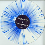 Front View : Cari Lekebusch - STYGE (WHITE / BLUE SPLATTER VINYL) - H-Productions / HYB032