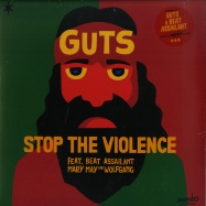 Front View : Guts - STOP THE VIOLENCE (2X12 LP) - Heavenly Sweetness / HS 167VL