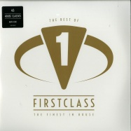 Front View : Various Artists - THE BEST OF FIRSTCLASS - THE FINEST IN HOUSE (4LP) - Polystar / 5383563