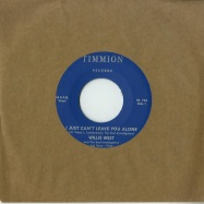 Front View : Willie West & The Soul Investigators ft. Jimi Tenor - I JUST CAN T LEAVE YOU ALONE (7 INCH) - Timmion / TR724